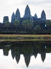 Angkor Wat (shaire productions) Tags: travel art tourism monument temple photo artwork asia cambodia southeastasia cambodian image picture culture landmark angkorwat icon structure photograph cultural siamreap ancientworld wondersoftheworld