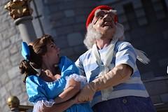 Wendy and Smee (meaghankelly13) Tags: castle peterpan disney disneyworld waltdisneyworld wendy magickingdom smee mrsmee cinderellacastle wendydarling dreamalongwithmickey