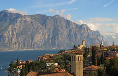Malcesine on Lake Garda, Italy (Batikart) Tags: road city italien blue sky urban italy lake mountains tree castle church nature water architecture canon buildings landscape geotagged boats outdoors see spring wasser europa europe natur may citylife kirche himmel haus tranquility boote berge roofs mai verona stadt architektur recreation blau relaxation ursula hafen landschaft dach idyllic malcesine schiffe burg frühling lakegarda sander häuser habor g11 gardasee veneto dächer frühjahr 2015 strase 100faves 200faves traveldestination castelloscaligero 300faves alpineregion 400faves batikart canonpowershotg11