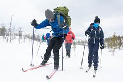 Windy day (TerjeLM) Tags: skiing skitur skirenn aursfjordhalvyaptvers