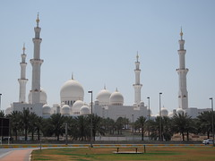 Sheikh Zayed Grand Mosque, Abu Dhabi!