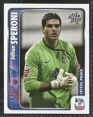 Julian Speroni - Panini 2010 sticker (The Wright Archive) Tags: football championship julian sticker crystal palace card panini 85 2010 goalkeeper speroni