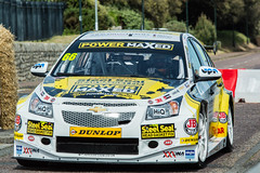 #66 Power Maxed Chevrolet Cruze BTCC Car (Stephen Hersee) Tags: cars car festival race demo championship nikon power wheels cook fast sigma 66 british straight bournemouth 70200 f28 touring btcc maxed 2015 d3200