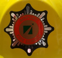 2000 BAA PLC Airport Fire Service Helmet Badge (Lesopc) Tags: 2005 2003 2001 2002 2004 logo fire airport sticker edinburgh 2000 plc heathrow glasgow 1987 helmet 1988 1996 2006 1999 crest 1993 aberdeen badge 1997 service 1998 british 1991 1992 1989 1995 1994 airports transfer southampton 1986 2008 baa stansted 1990 gatwick prestwick 2007