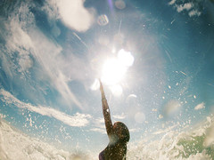 (Caemelie) Tags: blue sea summer holiday water girl beauty fun freedom seaside lol go pic adventure pro feeling wtf tgif photooftheday beahero gopro