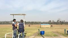 Clay Shooting First Impressed (Itonk Ibakara) Tags: park fire gun pigeon centre sydney first clay shooting shotgun cecil hitting impress targets