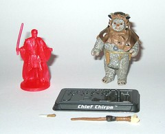 saga-039 chief chirpa ewok star wars the saga collection 2006 basic action figures return of the jedi hasbro with red obi-wan kenobi hologram figure a (tjparkside) Tags: red 2 two moon forest star stand general display ben action random chief hologram attack 2006 ewok collection staff pack ii return clones figure jedi knight hood obi wars figurine wan saga figures 39 exclusive basic episode ep acton hasbro spear tsc obiwan kenobi endor ewoks rotj chirpa aotc saga039