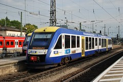 Augsburg Hbf 20.09.2011 (The STB) Tags: train railway zug alstom bahn brb lhb veolia lint41 transdev br648 bayerischeregiobahn