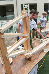 PZ20160513-023.jpg (Menlo Photo Bank) Tags: ca boy people usa game students us spring ben quad science event smallgroup atherton 2016 engaging upperschool makerfaire menloschool photobypetezivkov appliedscienceresearch