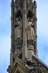 Parliament Angels (pjpink) Tags: uk england london architecture spring britain may housesofparliament parliament government ornate neogothic palaceofwestminster 2016 pjpink