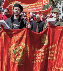 Mayday 2016 Clerkenwell London (Communist Party of Great Britain(Marxist-Leninist)) Tags: lenin london turkey demo birmingham communism mao marx che af banners mayday arsenal fit stalin ussr hammerandsickle anarchists daymer workingclass bectu redflag mkp gunners kurds unison gbr labourparty etxera metropolitanpolice may1st iaf bjk guardianangels tradeunions haziran rmt aslef antiimperialist imperialist partizan blackblock theinternational kgo mlkp tkp rolleflex westmids atik anarchistfederation dprkorea marxismleninism vicecom cpgbml devgenc gikder internationalworkersday newcommunistparty frontlinesocialistpartysrilanka disabledagainstthecuts iranianpeoplesfedaeeguerrillas cubaaf tucsouthernandeasternregion goonersagainstapartheid halklarindemokratikpartisi bristolukraineantifascistsolidarity workercommunistpartyhekmatist fratctionalsforfairpay aleviyouthuk bozcader britianalevifederation mayday2016