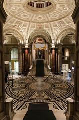 Kunsthistorisches Museum entry rotunda (scottgunn) Tags: vienna wien austria sterreich rotunda kunsthistorischesmuseum