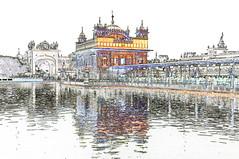 India - Punjab - Amritsar - Golden Temple - 334c (asienman) Tags: india sikh punjab amritsar gurudwara goldentemple harmandirsahib asienmanphotography asienmanphotoart