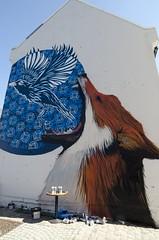 Streetart in Flor (Andreas Hustad) Tags: streetart graffiti flor