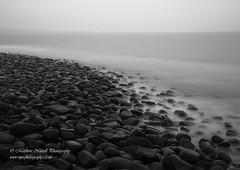 Slippery When Wet (Matthew Nuttall Photography) Tags: longexposure sea bw water monochrome coast rocks northumberland le coastline necoast northeastcoast dunstanburgh dolerite longexposurejunkies