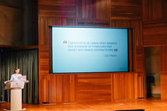 June 2016  Jocelyn K Glei (CreativeMornings/LosAngeles) Tags: creativemornings distraction creativity inspiration design 99ucom breakfastlectureseries losangeles la lacm cm cmla inspire community coffee