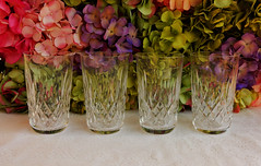 Waterford Crystal 12 oz Flat Tumblers ~ Glasses ~ Lismore (Donna's Collectables) Tags: glasses flat crystal oz 12 ~ waterford lismore tumblers