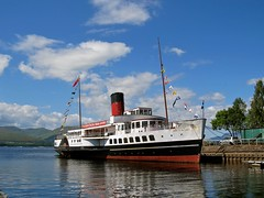 Maid of the Loch (Traigh Mhor) Tags: june scotland glasgow balloch lochlomond 2016