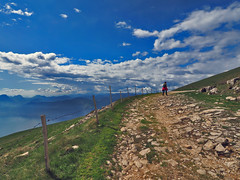 A visit to the clouds at Monte Baldo (neya25) Tags: italien italy mountain berg garda italia hill monte gardasee baldo 918mm mzuiko olympusomdem10