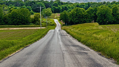 Country Roads (myoldpostcards) Tags: rural gum season landscape illinois spring country il avenue countryroads centralillinois menardcounty myoldpostcards vonliski