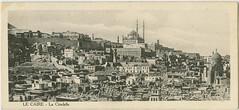 LE CAIRE - La Citadelle [Cairo - The Citadel] (Yarra Plenty Regional Library Local History) Tags: postcard souvenir cairo worldwarone 19141918 salaheldinalayoubycitadel