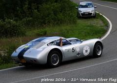 DSC_6595 - Kellison J4R Coupe - 1958 - Coschieri Marc - AC Monaco (pietroz) Tags: silver photo foto photos flag historic fotos pietro storico zoccola 21 storiche vernasca pietroz