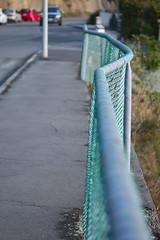Fence - why? (Kiwi Jono) Tags: fence indent kink bent why odd pentax pentaxk5 smcpda70f24