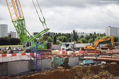 Rservoir Pouille (Alexandre Prvot) Tags: construction travaux chantier worksite buildingsite construccin baustellebauplatz cugn grandnancy lorraine