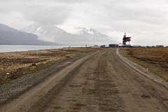 Lonely Road (danielfoster437) Tags: adventure arctic arcticcircle arcticsummer arctictundra extremeterrain landscape mountain nature outdoors spitsbergen summer svalbard svalbardsummer terrain tundra wilderness