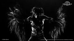 IMG_7424 (DidierBonin) Tags: show dance costume nb bw blackwhite black savage tribal