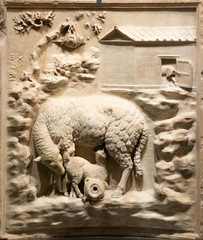 IMG_0100 (jaglazier) Tags: 1stcenturybc1stcenturyad 2016 72316 altars animals architecturalelements architecture buildings bulls campania caves copyright2016jamesaglazier deciduoustrees fertility grecoroman imperial italy july mammals museoarcheologiconazionale museoarcheologiconazionaledinapoli naples napoli national nationalarchaeologicalmuseum nazionale palestrina praeneste religion religions republican rituals rockformations rocks sheep stonesculpture trees archaeology art crafts ewes highrelief lambs reliefs rural rustic sculpture suckling