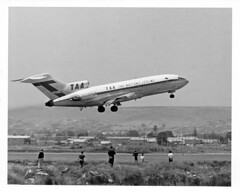 Spotter's Paradise (adelaidefire) Tags: south australia airport ypad adelaide taa boeing 727 trans australian airlines from collection