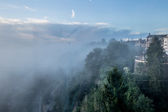 IMG_5026 (ZoRRaW photography) Tags: luxembourg luxembourgcity morning sunrise fog mist