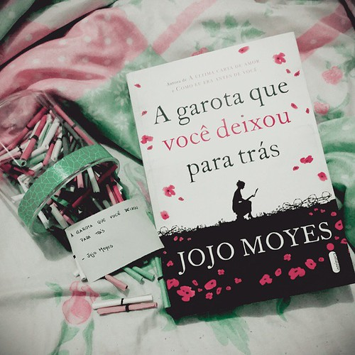 Jojo Moyes book fan photo