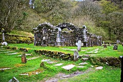 Old Church (ombvb) Tags: trip trees ireland friends lake plant green nature water grass river landscape grey view glendalough