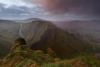 Winnats Pass - Sunset Storm
