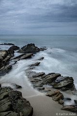 Lazy Afternoon - 9026 (www.karltonhuberphotography.com) Tags: ocean longexposure seascape motion texture water lines vertical mystery landscape flow rocks soft pretty moody action tide calming wideangle lazy dreamy southerncalifornia current leadinglines 2015 landscapephotography lagunabeachcalifornia silkywater nikkor1735mm ebbingtide foregroundinterest mosscove nikond7000 karltonhuber