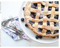 Blueberry Pie 03 (Palacios.Bel) Tags: food blanco design blog sweet interior comida cook cocina eat taste recipes dibujo bake diseo yumm fondo dulce texto escritura recetas foodstyling