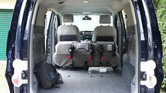 e-NV200: Rücksitze umgeklappt