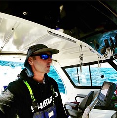Jason Moyce on his morning commute...traffic seems light today 🎣😎 #Stormline #Stormline #photocontest #fishing #nsw