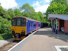 150124 at Calstock (Marky7890) Tags: station train railway calstock sprinter dmu tamarvalleyline fgw class150 150124 2g74