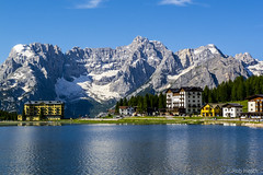 Lake Misurina and Sorapiss, dolomites by Robert J Heath, on Flickr