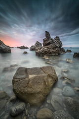 cala frares (tofercu) Tags: red sea seascape canon landscape mar catalunya coulds costabrava mediterrani tonifernandez tofercu 5dmarkiii
