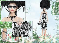 AMARELO MANGA - Eliza (Rehana MiSS SLVietnam, Face of CHOP ZUEY 2015) Tags: fashion secondlife laboheme rehana newrelease anga slink amarelomanga beusy azoury chopzuey rehanaseljan