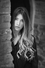 Sibora (lucafoscili) Tags: light portrait woman girl beautiful beauty face fashion hair outdoors model eyes nikon bokeh makeup lips greeneyes d800 torrechiara nikond800 lucafoscili