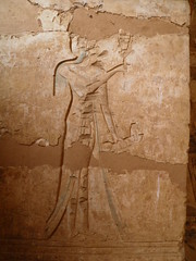 Medinet Habu, second court portico, south wall, unnamed princess (dr.heatherleemccarthy) Tags: sculpture stone architecture temple princess egypt relief thebes ramesses