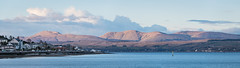 Scotland - Dunoon - Sunlit Mountains (Andrew Hounslea) Tags: mountain mountains evening scotland clyde nikon unitedkingdom dusk g argyll united kingdom d750 nikkor peninsula vr firth dunoon bute 28300 firthofclyde cowal cowalpeninsula argyllandbute 28300vr afsnikkor28300mmf3556gedvr