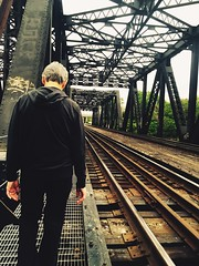 Getting some walking in on a Nice beautiful day! #MondayWalks #Walking #friend #trainbridge #traintracks #Mondays #niceweather #Rustic #Goodvibes #Columbusadventures (kelsey_erinbook13) Tags: walking friend rustic traintracks mondays trainbridge goodvibes niceweather columbusadventures mondaywalks