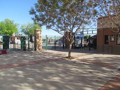Gate F at Scottsdale Stadium -- Scottsdale, AZ, March 08, 2016 (baseballoogie) Tags: arizona baseball stadium az giants scottsdale ballpark springtraining sanfranciscogiants cactusleague baseballpark scottsdalestadium 030816 canonpowershotsx30is baseball16