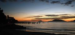 Sunset in Lerici (Tommaso Savina) Tags: sunset tramonto lerici golfodeipoeti